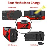 Emergency Rechargeable Solar Crank
