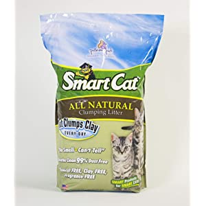 SmartCat All Natural Clumping Litter