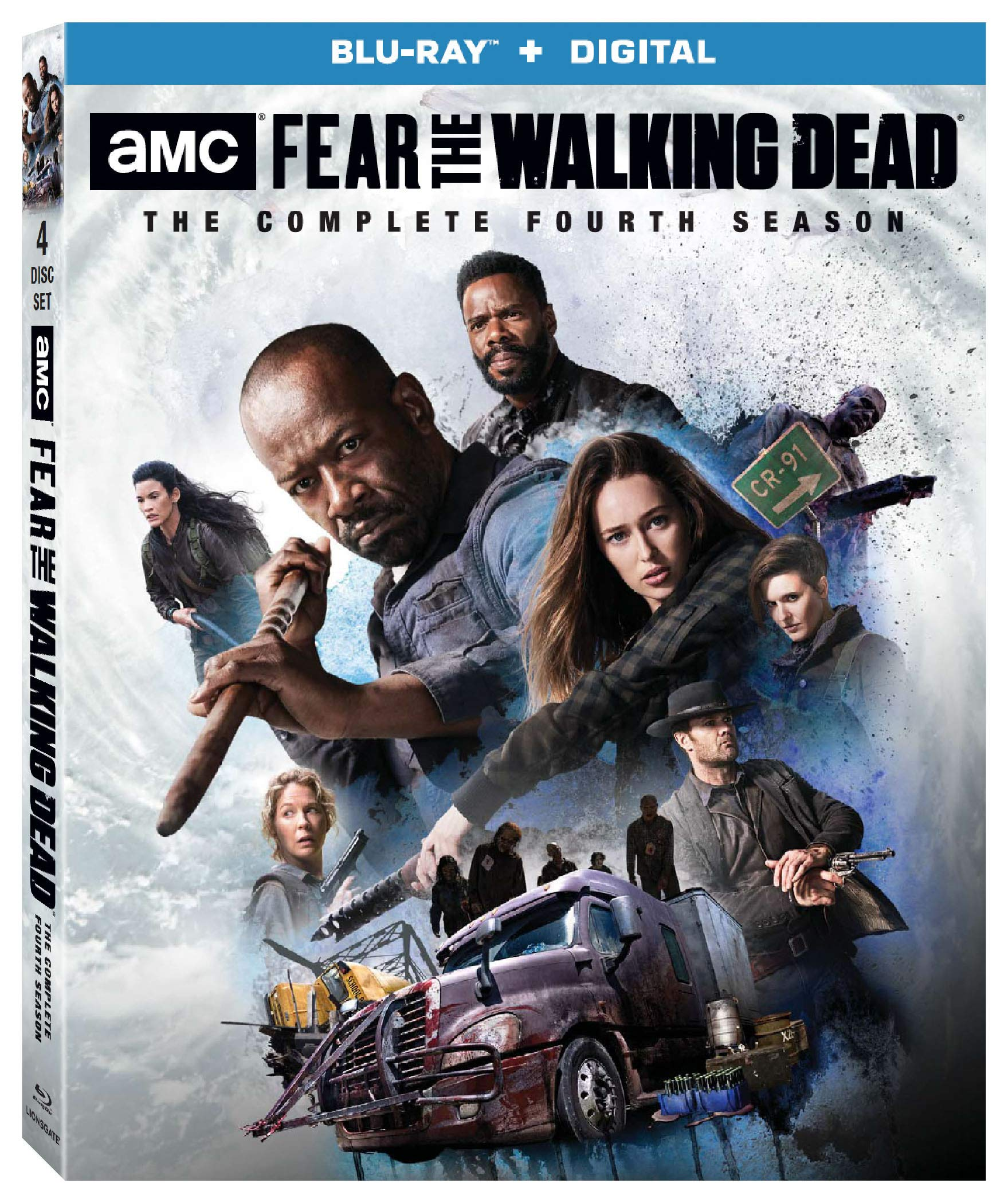 Blu-ray : Fear The Walking Dead: Season 4 (Boxed Set)