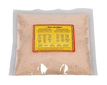 ALMA SEMILLERA Heirloom Corn Pinole de Maiz Mix (8 OZ) - Non-GMO, Gluten Free, Vegan, No...