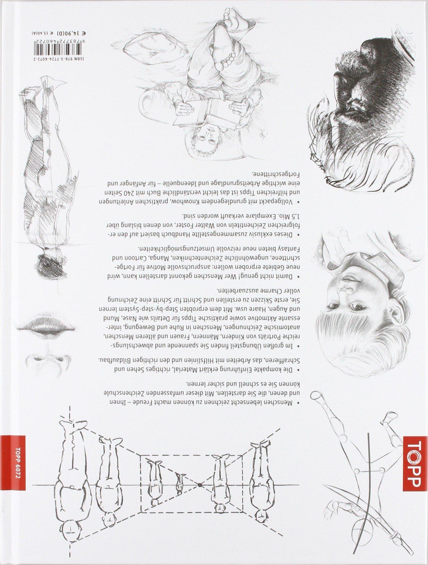 Die Kunst des Zeichnens - Menschen: Die große Zeichenschule: Die ...