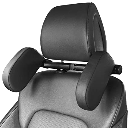 HEAPANY Car Seat Headrest Pillow - Federally-Tested for Safety