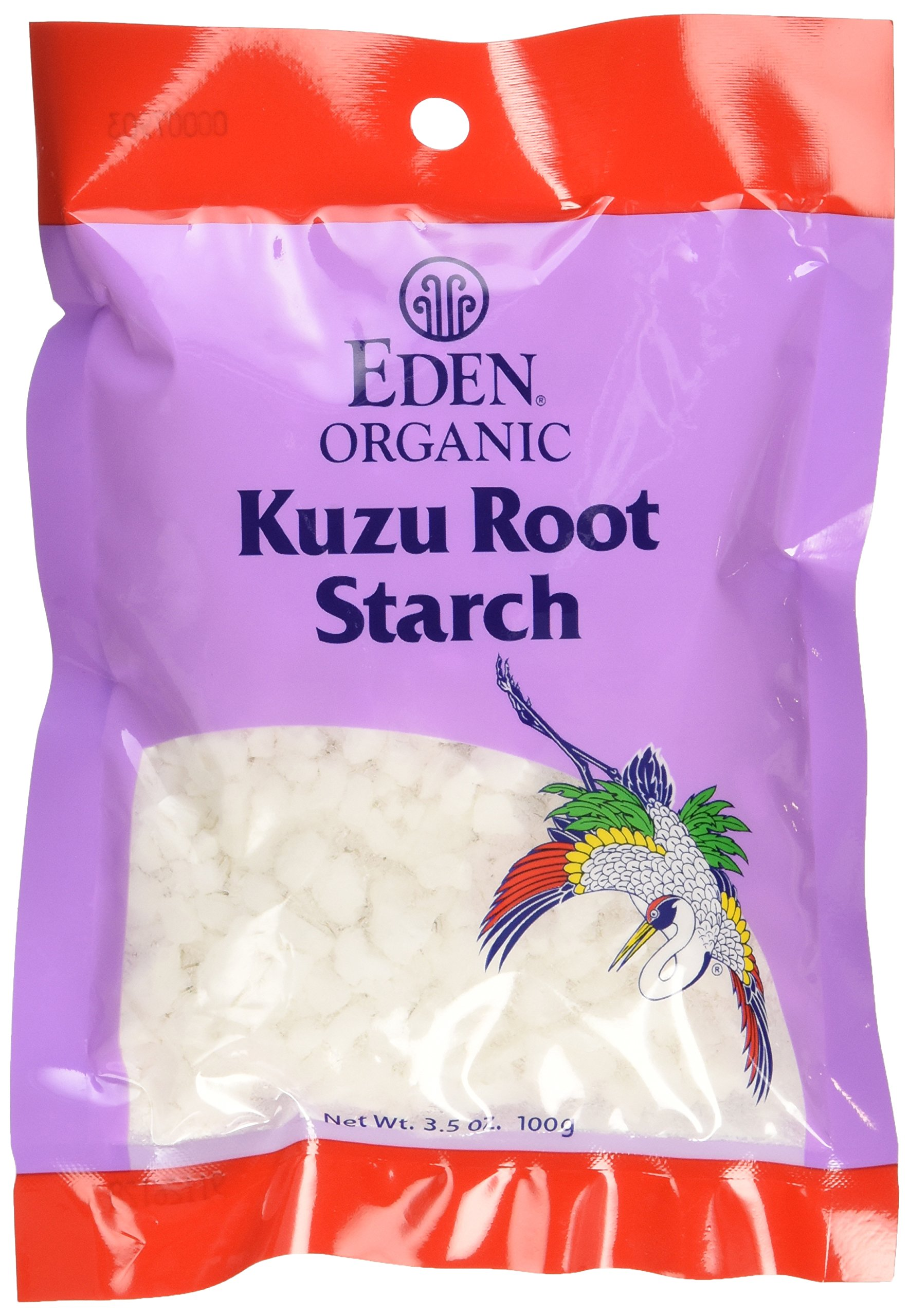 Eden Foods Organic Kuzu Root Starch, 3.5 Ounce -- 12 per case.