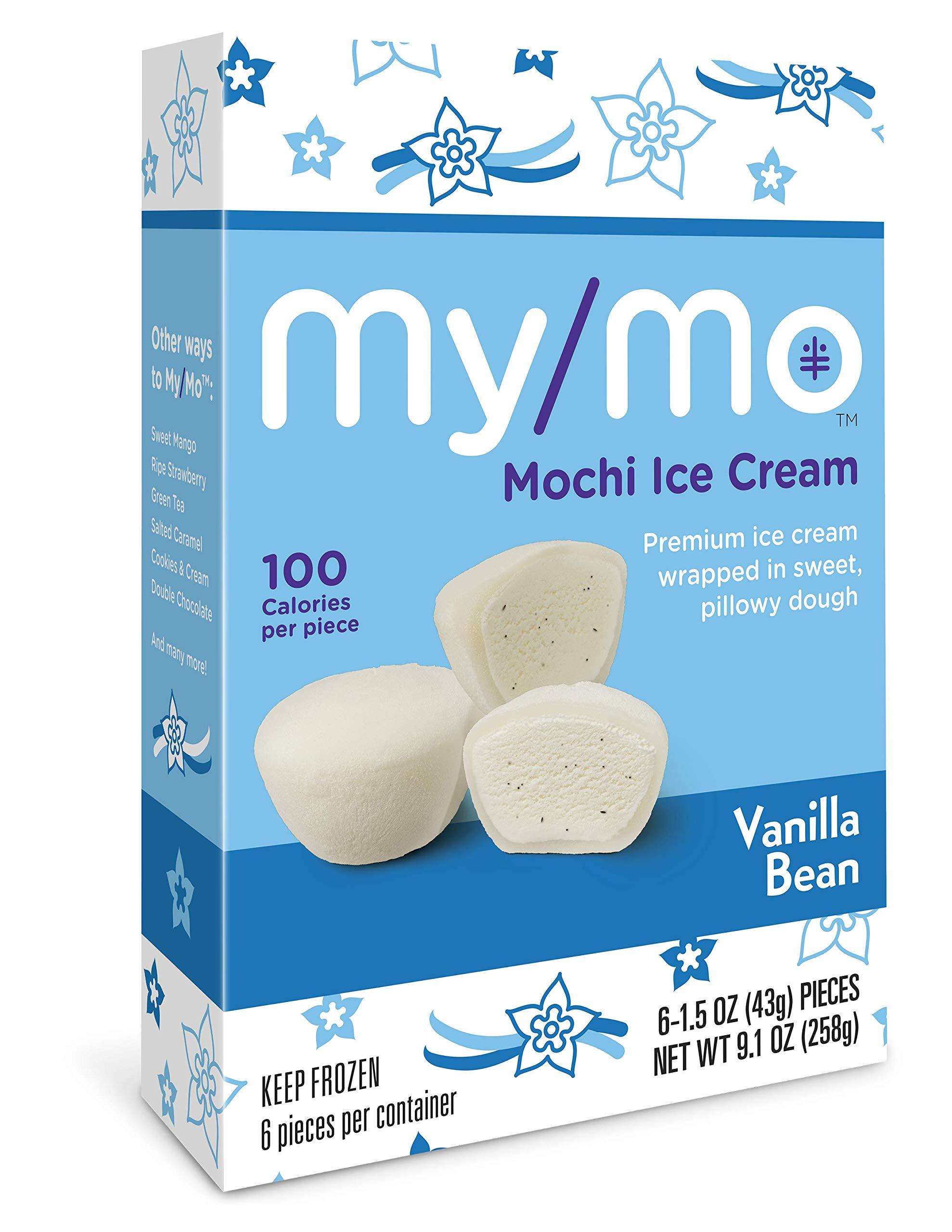 My/Mo Vanilla Bean Mochi Ice Cream - 36 Mochi Ice Cream Balls (6 x 6ct. Boxes)