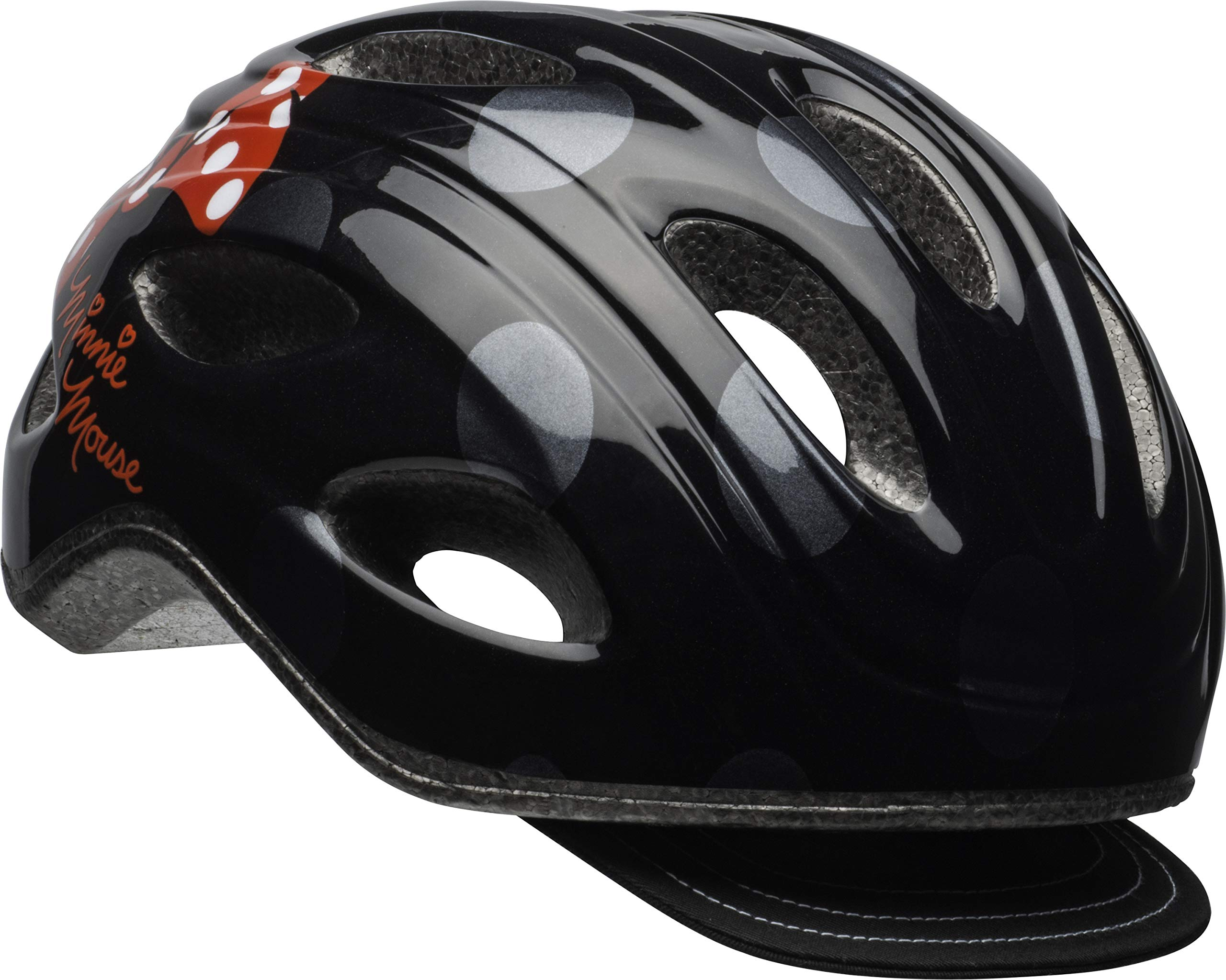 Bell Minnie Mouse Women's Bike Helmet Black Polka Dots by Bell
