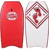 """42"""" (106cm) Slick Board Bodyboard XPE + EVA Core Includes Wrist/Ankle Strap by Two Bare Feet"""