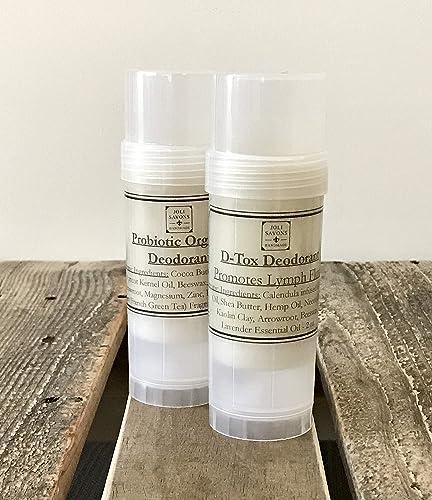Amazon.com: D-Tox Organic Deodorant for Sensitive Skin (Baking Soda Free): Handmade