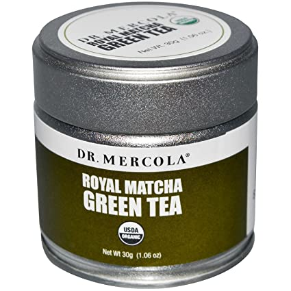 Dr. Mercola, Royal Matcha Té verde, 1,06 oz (30 g) – 2pc ...