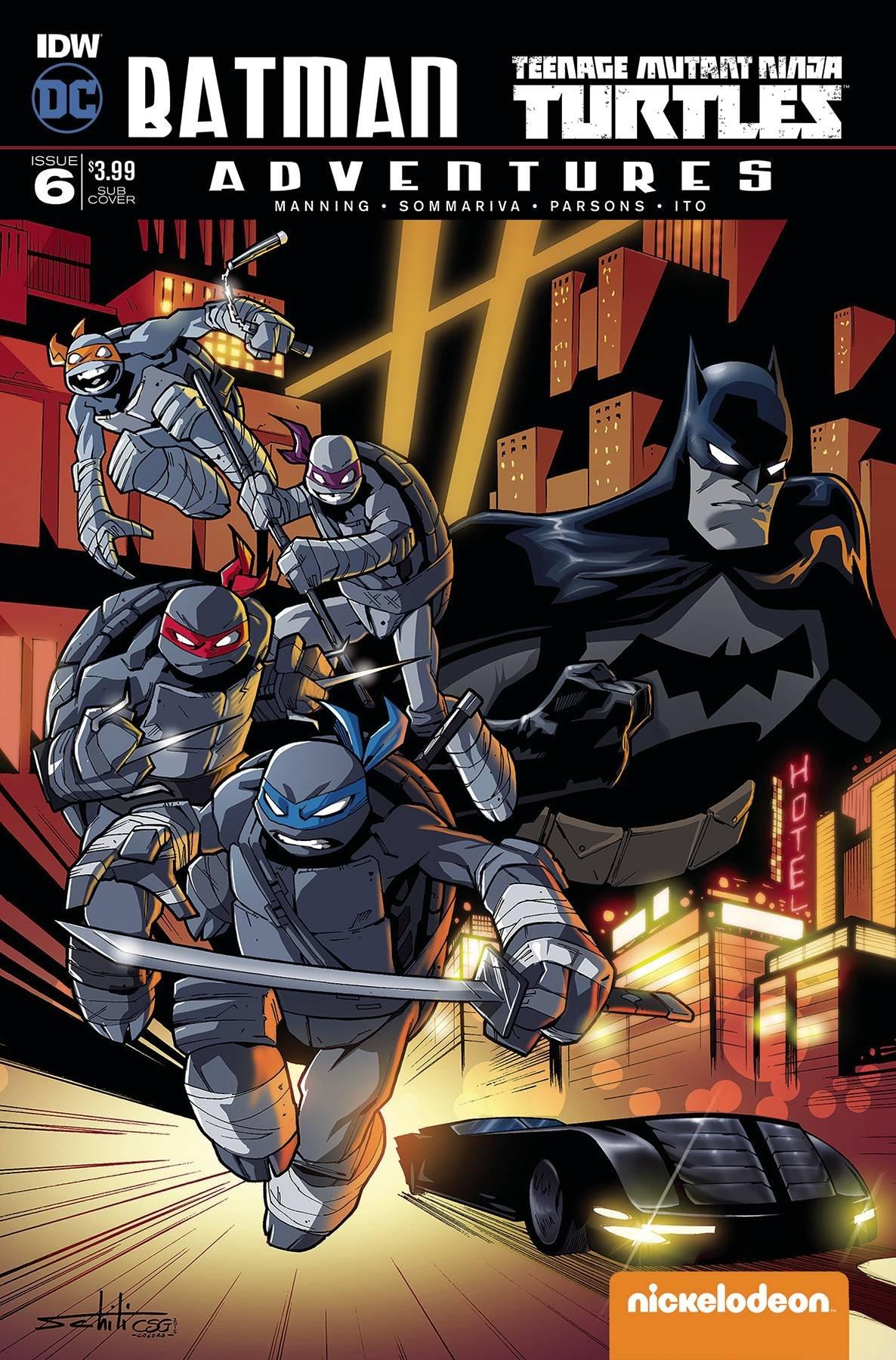 BATMAN TEENAGE MUTANT NINJA TURTLES ADVENTURES #6 (OF 6 ...