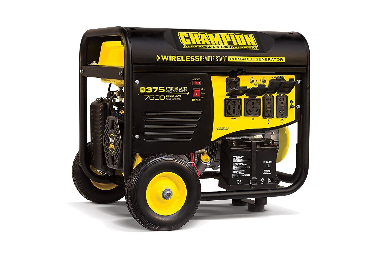 Amazon.com: Champion 7500-Watt RV Ready Portable Generator with Wireless  Remote Start: Garden & Outdoor