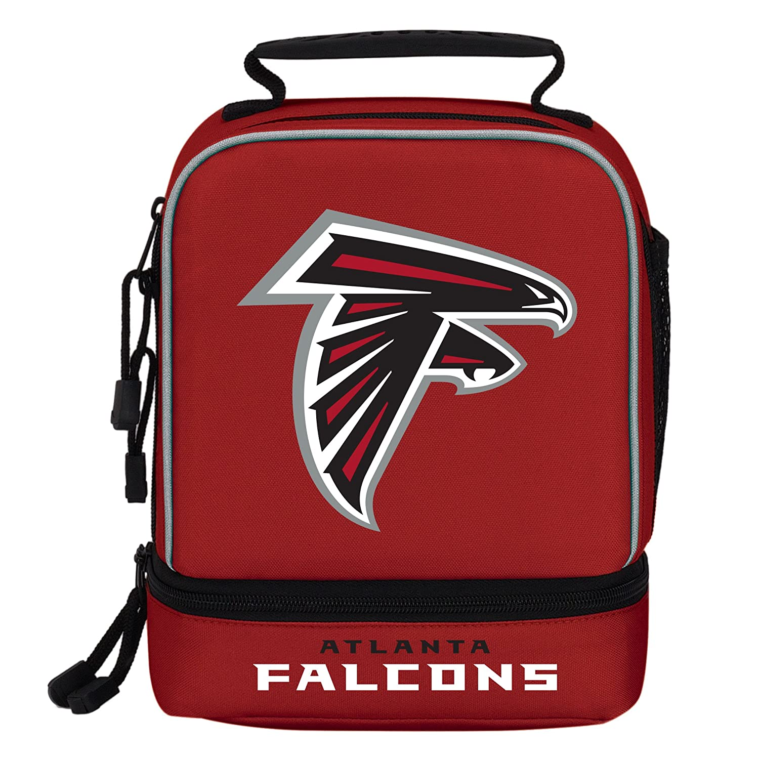 Officially Licensed NFL Spark Lunch Kit 9 x 4.5 x 7.25 Multi Color