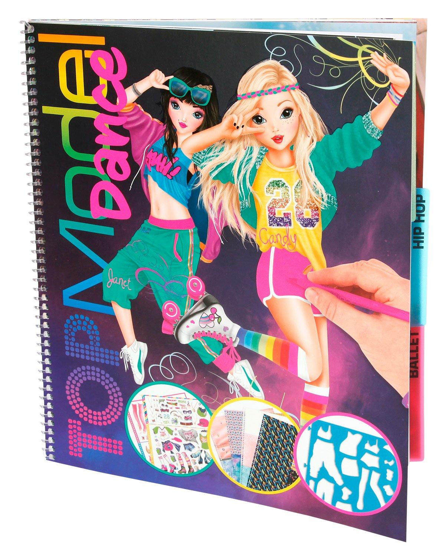 Top Model Topmodel - Dance Colouring Book