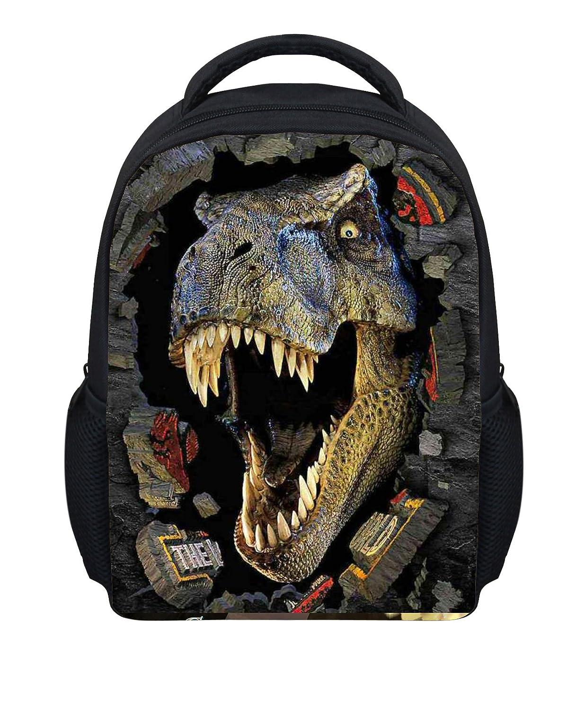 ThiKin Cute Backpack Preschool Bags for Kindergarten Little Kids with Dinosaur Cat Pattern 5542F/_XKS