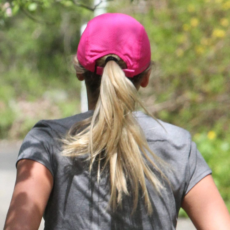 Gorra Deportiva Ligera y de Secado r/ápido para Mujer TrailHeads Race Day Performance