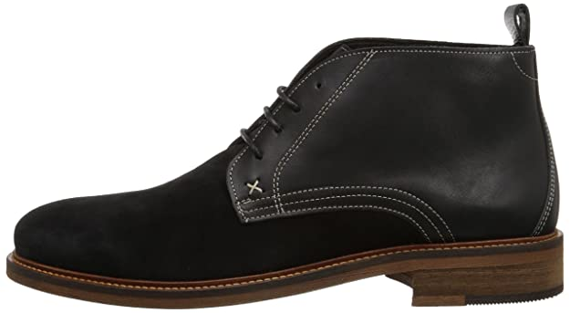 a6d9801564d Wolverine 1883 Men's Hensel Ankle High Desert Boot, Black Leather ...
