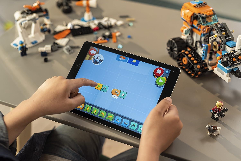 60194 Compatible LEGO Boost LEGO City Jeu de Construction Le v/éhicule /à chenilles dexploration