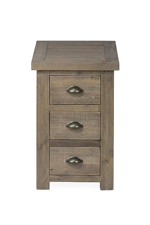 Amazon Com Jofran 940 8 Slater Mill Chairside Table 16 W X 24
