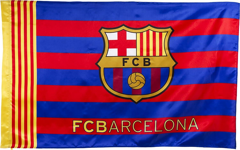 Bandera FC Barcelona, tamaño 150 x 100 cm: Amazon.es: Deportes y aire libre