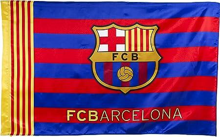 Barca Flag Official Fc Barcelona 150 X 100 Cm Amazon Co Uk Sports Outdoors