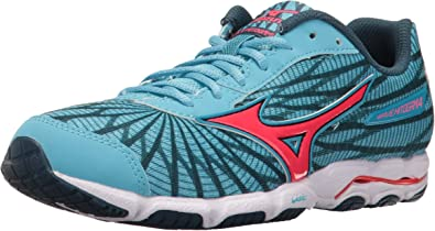 Almuerzo Escandaloso plato  Amazon.com | Mizuno Women Wave Hitogami 4 Running Shoe, Malibu Blue/Pink,  7.5 B US | Road Running