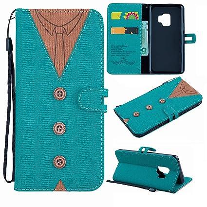 70826634fb53 Amazon.com: Find box Samsung Galaxy S9 Case,Samsung Galaxy S9 Wallet ...