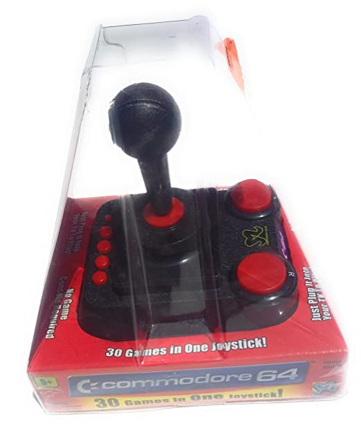 Amazon com: Commodore 64: 30 Games in One Joystick: Video Games
