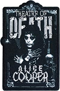 C&D Visionary Alice Cooper Theatre of Death Patch, Multi Color