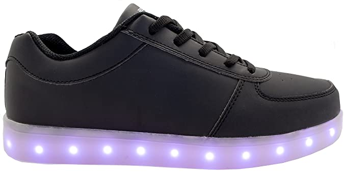 Ladies Breathable White Led Shoes Men Casual Glowing Shoes Adults Luminous Sneakers Young Couples Sneakers With Usb Charging Men's Casual Shoes Shoes