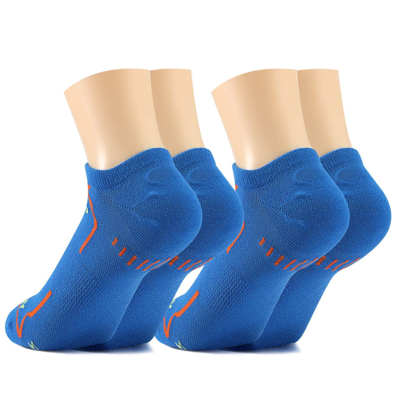 Fazitrip calcetines deportivos de corte bajo para hombres y mujeres 2  pares db14fb0648d