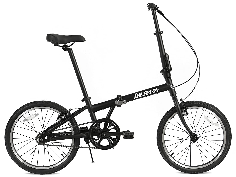 FabricBike Folding Bicicleta Plegable Cuadro Aluminio 3 Colores (Fully Matte Black): Amazon.es: Deportes y aire libre