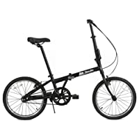 FabricBike Folding Bicycle Alloy Frame Single Speed 3 Colours