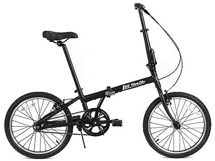 "FabricBike Folding Bicicleta Plegable Cuadro Aluminio Ruedas 20"" 3 Colores (Fully Matte ..."
