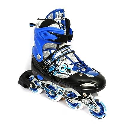 5f03adfe24d Buy Kamachi K-906 Aluminium in-line Skates Large, U.K Size 39 to 42 ...