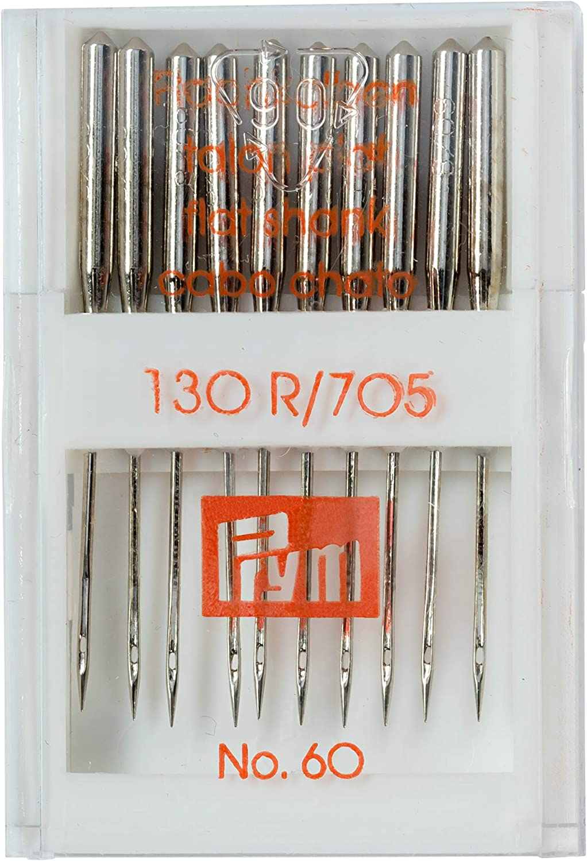 Prym 152413 Sewing Machine Needles 130//705 Standard 100 Silver