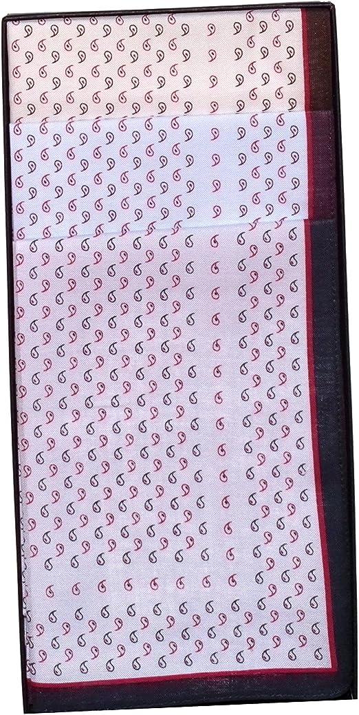 Guasch 6 Pañuelos de Caballero de la Marca 100% Algodón De Color ...