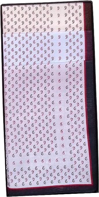 Guasch 6 Pañuelos de Caballero de la Marca 100% Algodón De Color Con Dibujitos (25886p18): Amazon.es: Ropa y accesorios
