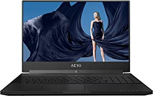 "GIGABYTE Aero 15X v8-BK4 15"" Ultra Slim Gaming Laptop 144Hz IPS Anti-Glare FHD Display, i7-8750H, GeForce GTX 1070, 16G RAM, 512GB PCIE SSD, Metal Chassis, RGB Keys"