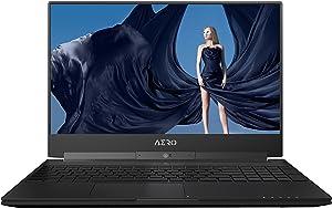 """GIGABYTE Aero 15X v8-BK4K4P 15"""" UHD Thin Bezel Adobe RGB 100% i7-8750H GTX 1070 16G RAM 512GB SSD 94.24Wh Win10 Pro Laptop"""