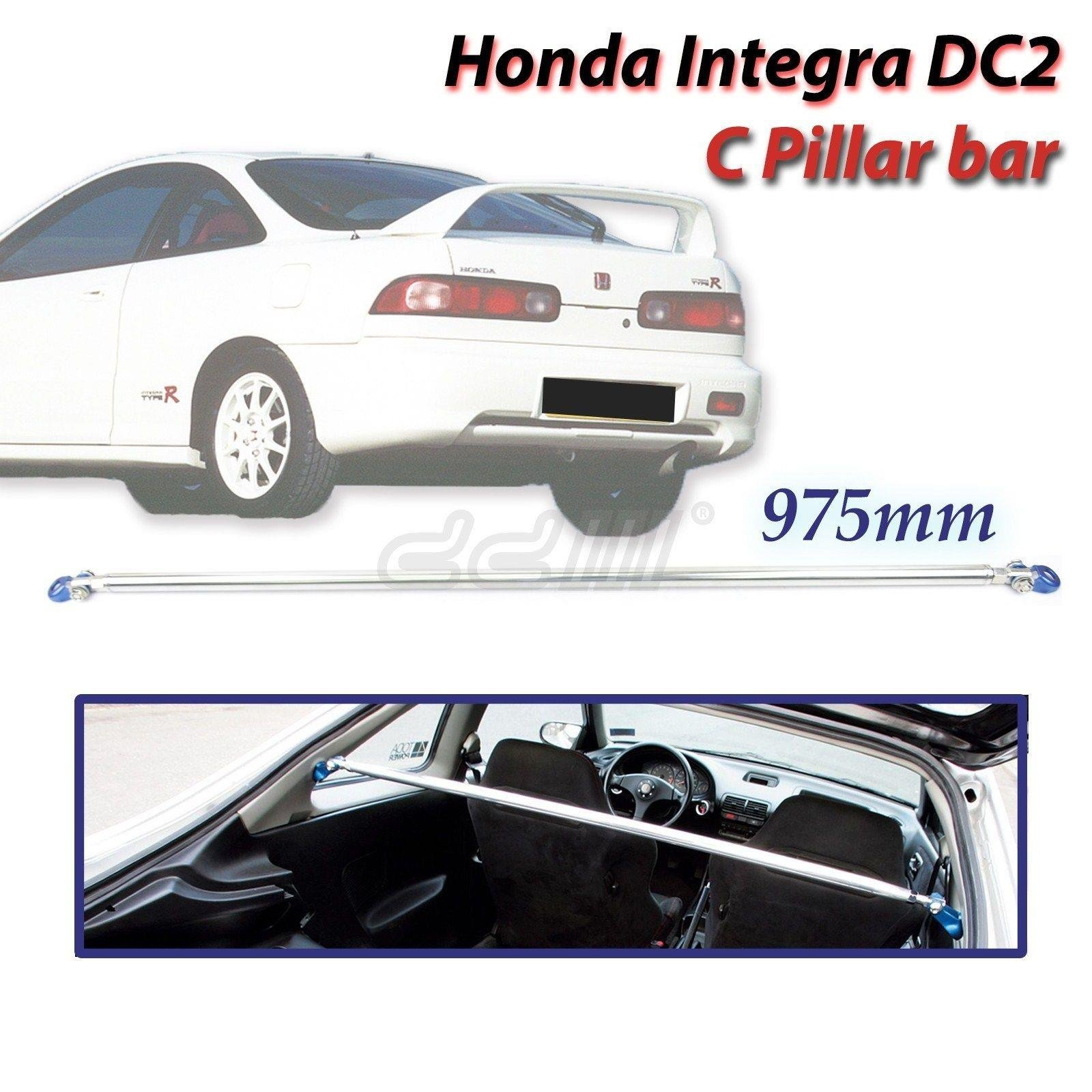 JDM Racing Rear C Pillar Upper Brace Bar 975mm Fits Honda Integra DC2 2-DOOR 94-01