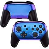 eXtremeRate Soft Touch Faceplate and Backplate for NS Switch Pro Controller, DIY Shell Housing Case for NS Switch Pro - Controller NOT Included