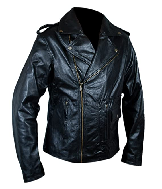 Flesh & Hide F&H Mens Grease T Birds Danny Zuko John Travolta Jacket: Amazon.es: Ropa y accesorios