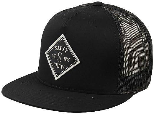 9a099276 Amazon.com: Salty Crew Tippet Trucker Hat - Black: Clothing