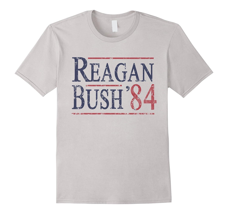 Reagan Bush 84 T Shirt-TD