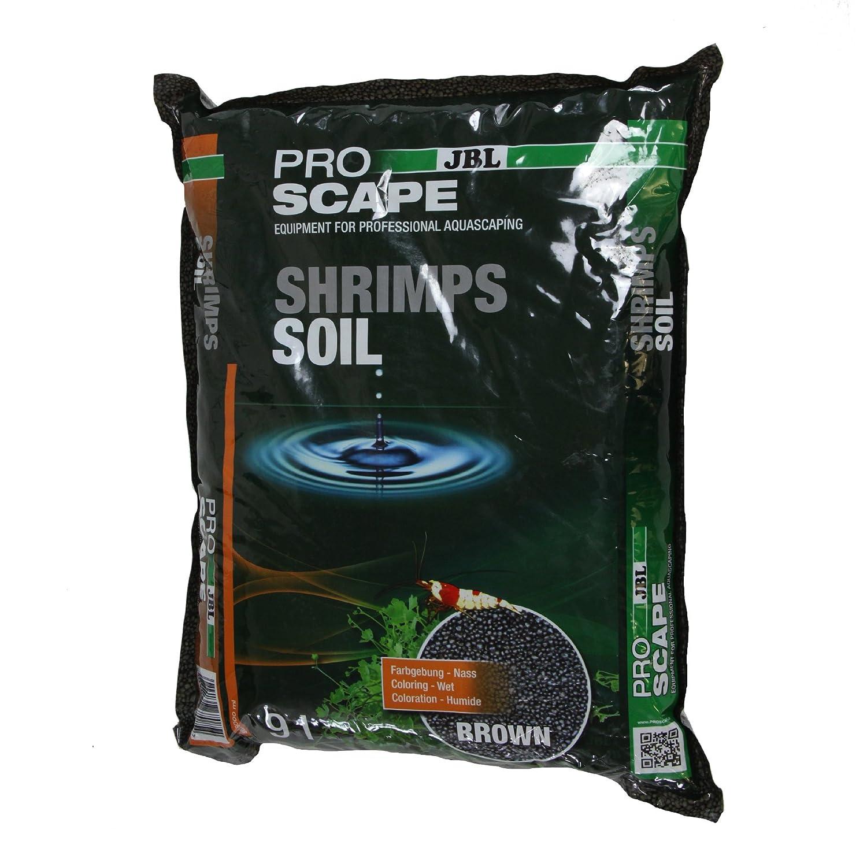 JBL ProScape ShrimpsSoil BROWN 9l - Substrat brun pour aquariums à crevettes 6708500