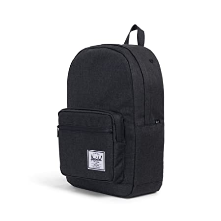 Herschel Pop Quiz Backpack Crosshatch Black Rubber, One Size