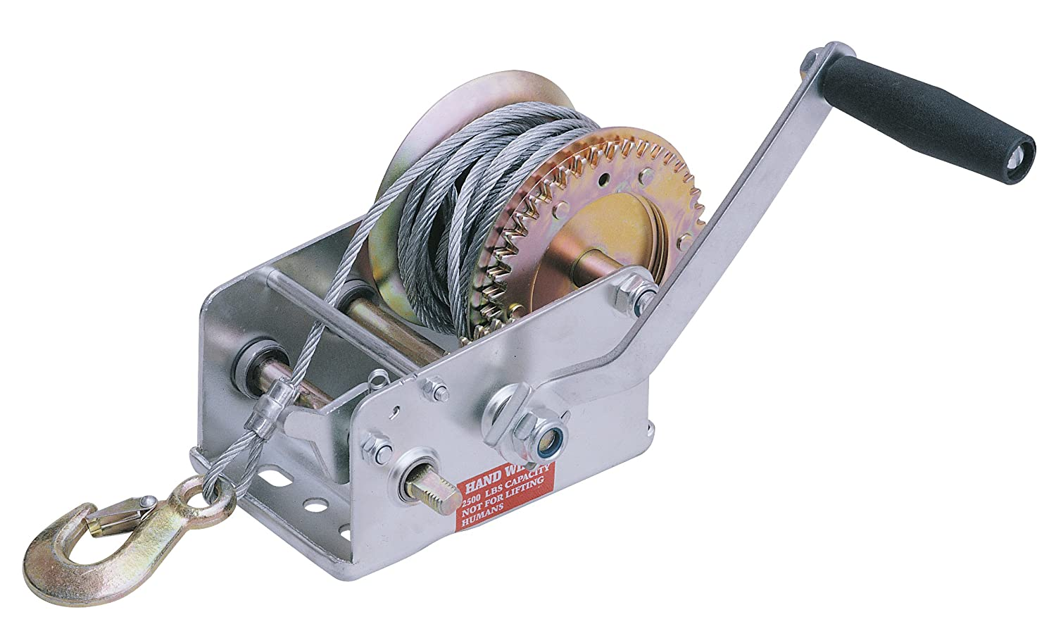 I-lift Equipment WH25 Hand Winch, 2500-Pound Capacity, 30-Foot Cable:  Amazon.ca: Industrial & Scientific