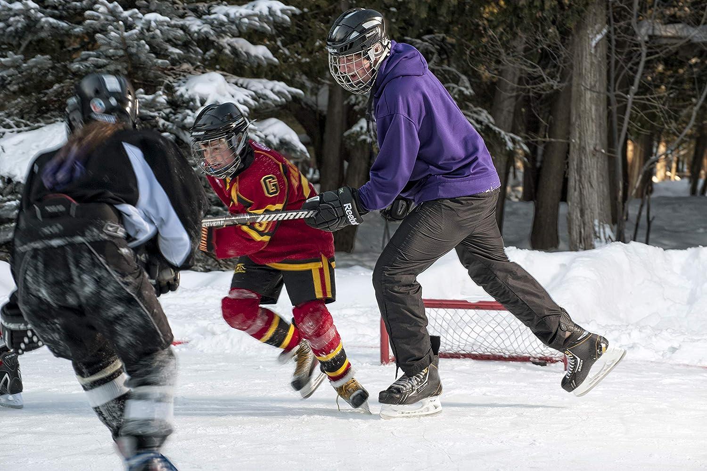 "Mini Net Mesh Frozen Outdoor Rink ODR 36/"" Pond Hockey Net Replacement Mesh"