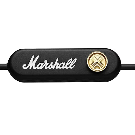 Marshall Minor II Bluetooth - Auriculares Bluetooth, Color Negro: Amazon.es: Electrónica