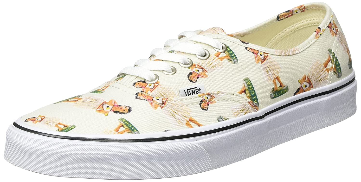 Vans Authentic B011PLZNYA 8.5 D(M) US|(Digi Hula) Classic White/True White