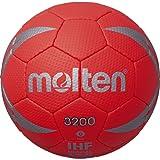 molten(モルテン) ハンドボール ヌエバ3200 0号 レッド×シルバー H0X3200